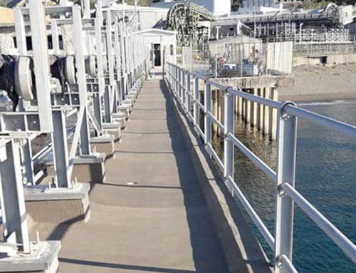Impermeabilizzazione pontile pedonale